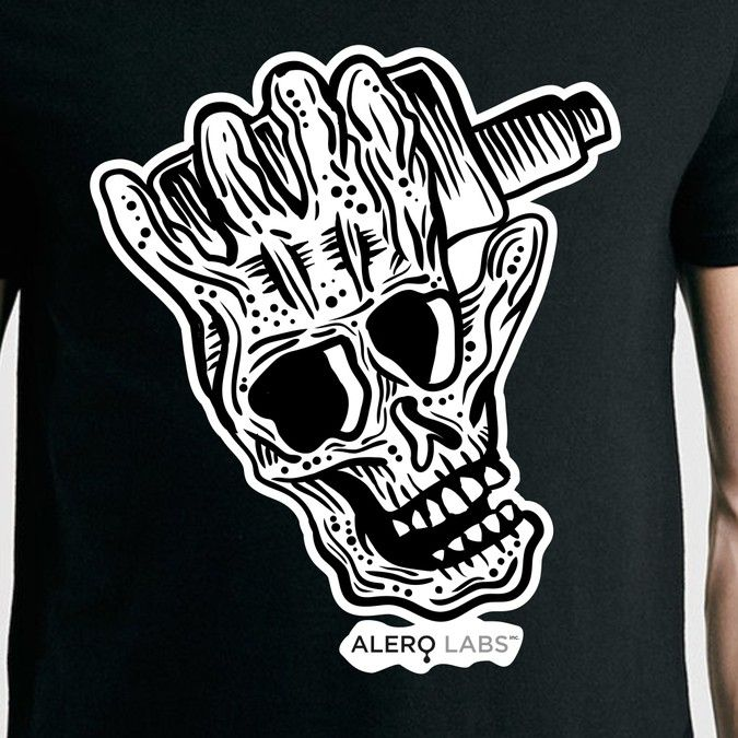 Freelance - Vape company needs killer design skills for shirts and hats by darmades