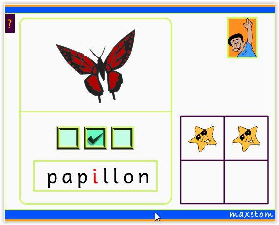 Exercice en ligne pour apprendre à lire - CP -  Dans quelle syllabe se trouve le son i ?