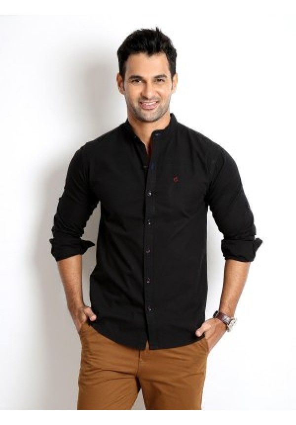 """Buy Rodid Men's Solid Casual Black Shirt at fashionothon.com in india featured with fashion as like casual shirts for men, mens shirts, Black Shirt, Casual Black Shirt ,mens shirts, fashionothon, online shopping"" Shop online - http://www.fashionothon.com/men/shirts/Rodid-Casual-Black-Shirt"