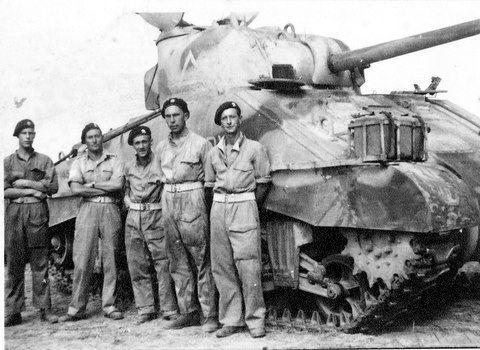 George E Jordan( Sherman Tank)