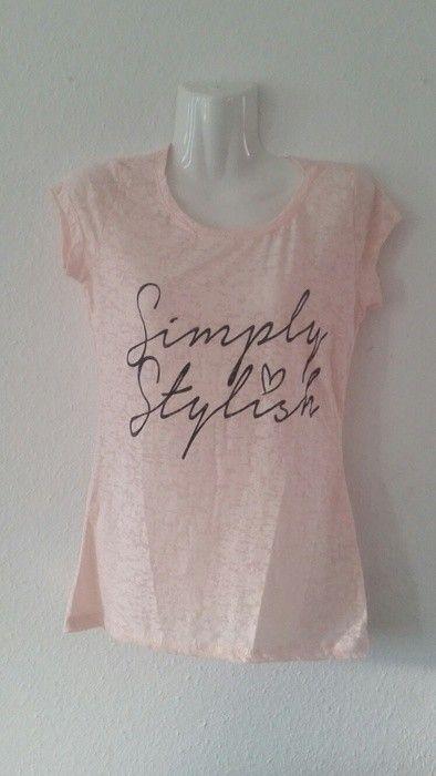 Damen T-Shirt mit Aufdruck Symply Stylisch