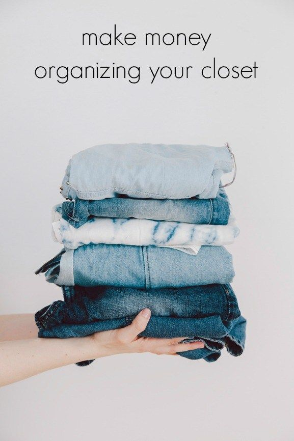 Make Money Organizing Your Closet. The first tip alone is worth a read!