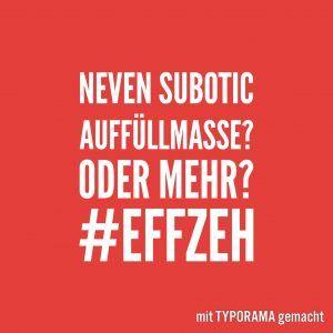 Neven Subotic. Keine Auffüllmasse!?! #effzeh #köln #fussball #subotic