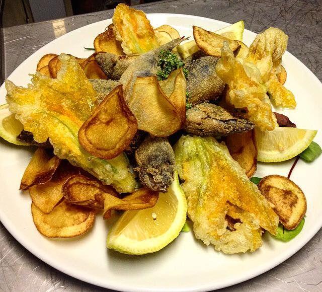 Il Fish&Chips del Barone Rosso.