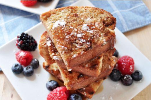 Un pain doré fait de lait d'amande! #recette #pain #doré #déjeuner