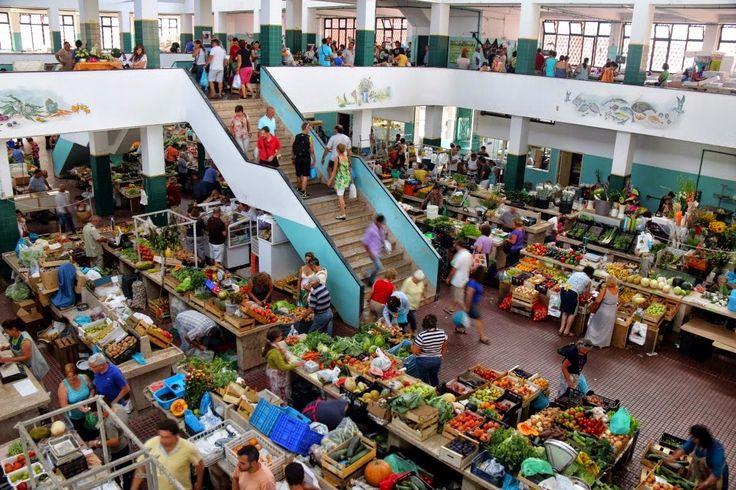 Mercado Municipal de Peniche, Portugal