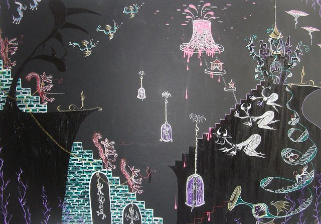 massive drawing from 2008   by Emanuelle Tomato