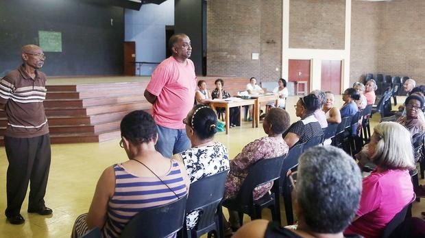 Durban - Days after the Newlands East Senior Citizens' Club voiced their outrage over the poor condition of their sports ground, an official from the eThekwini Municipality met them to discuss the matter.