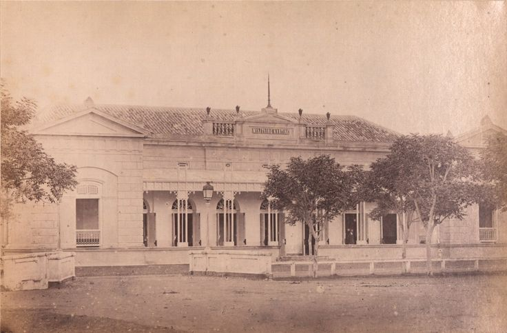 Military canteen for non-commissioned officers and troops in Surabaya (Jl. Krembangan Barat)  1865 (File KITLV
