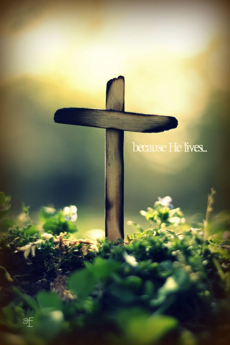 because HE lives..