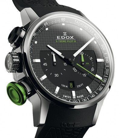 Edox WRC X-Treme Pilot III Limited Edition Watch