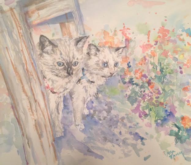 Garden Kittens!