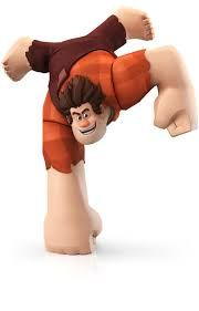 Wreck-It Ralph You will be able to unlock a bunch of stuff for the game because you have Ralph. He does not have his own Adventure in the game.  http://awsomegadgetsandtoysforgirlsandboys.com/disney-infinity-characters/ DISNEY INFINITY CHARACTERS: Wreck-It Ralph