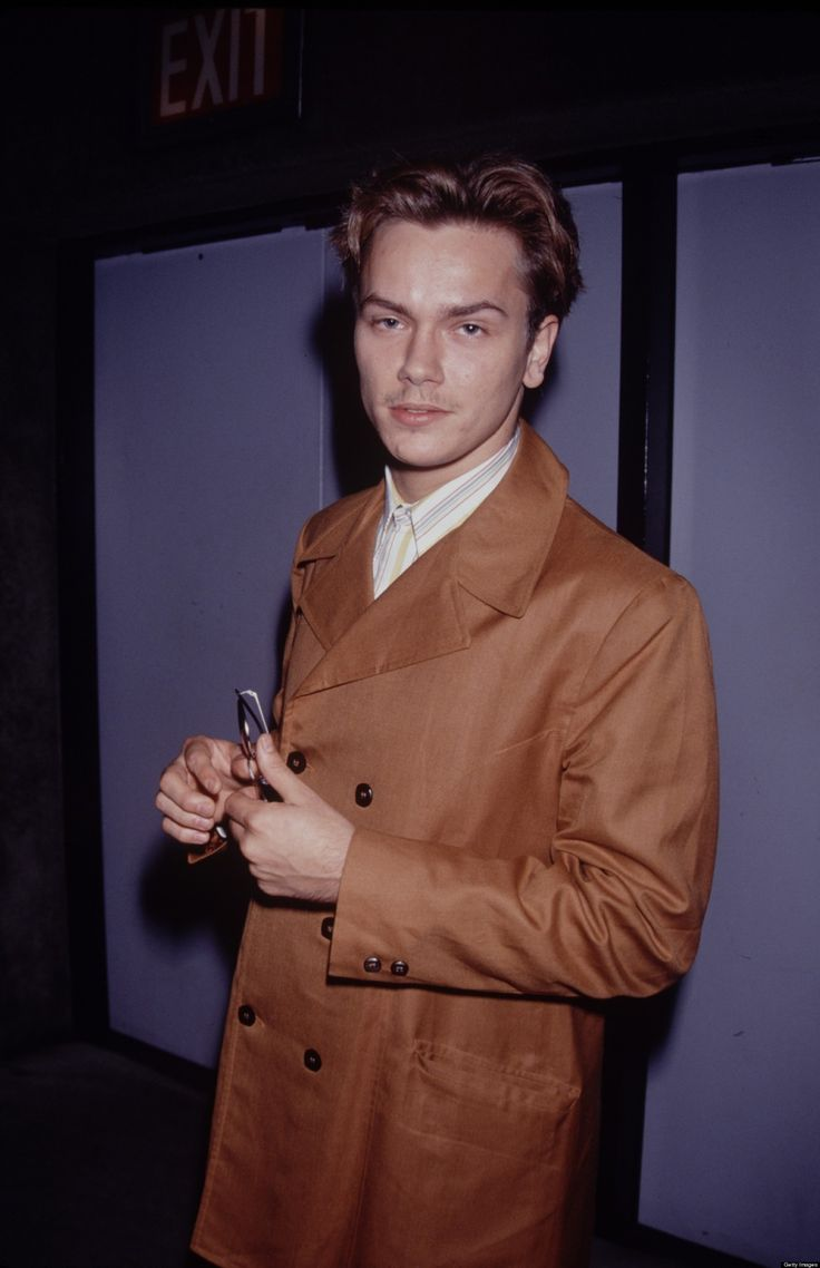 river phoenix - unfortunately he looks high as a kite in this pic :-(