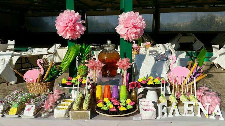 Flamingo candy bar!