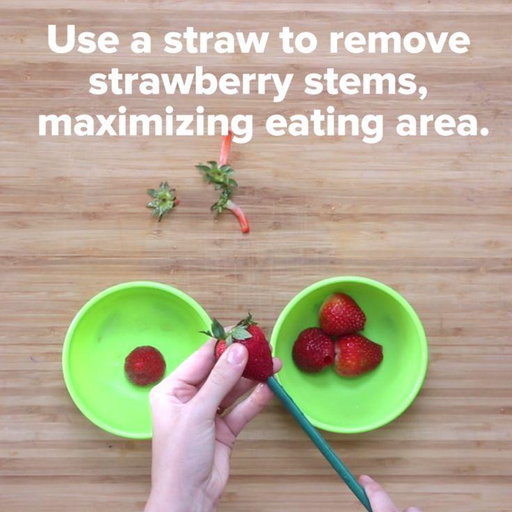 Super Useful Fruit Cutting Hacks