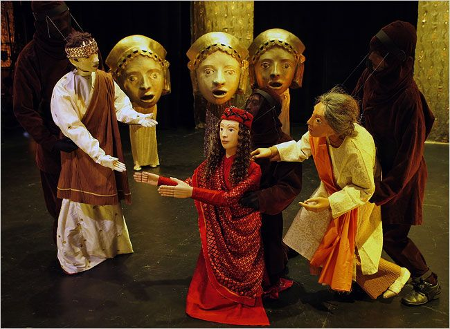Acting and Greek Theatre: Honoring Dionysus