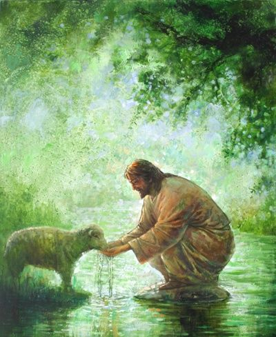 """""""But whoever drinks of the water that I will give him will never be thirsty again. The water that I will give him will become in him a spring of water welling up to eternal life,"""" John 4:14."""