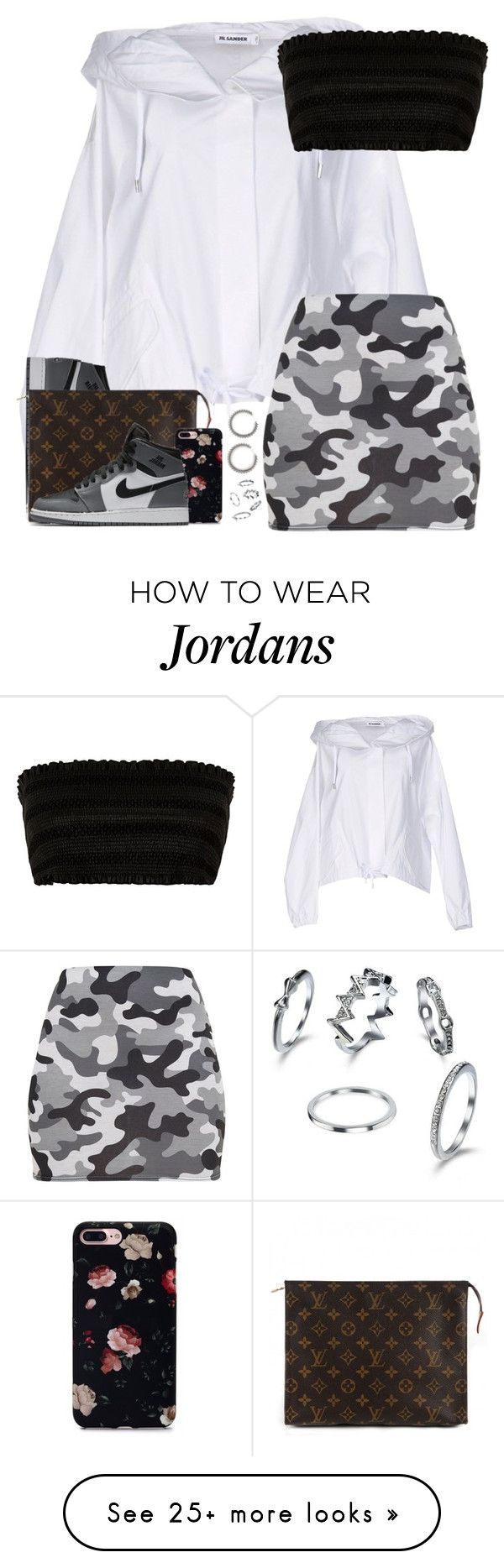 """☠️they say crack kills, n*gga my crack sells☠️"" by imlowkeydaddy on Polyvore featuring Jil Sander, NIKE and Louis Vuitton"