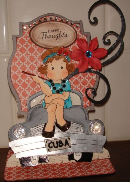 Happy Thoughts card by charlie horse - Cards and Paper Crafts at Splitcoaststampers