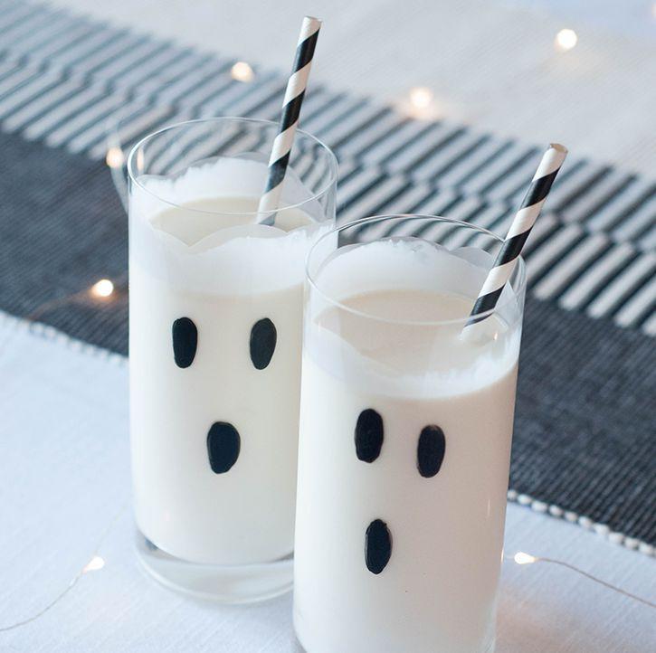Too cute to spook, Milkshakes!