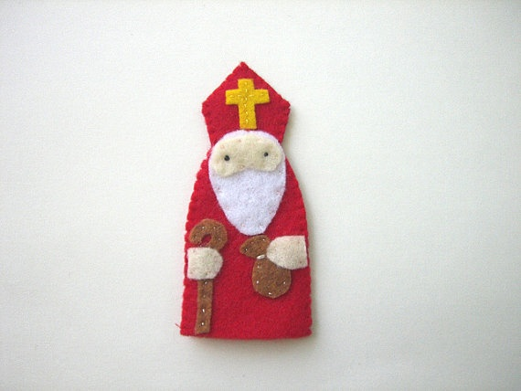 Saint Nicholas - Catholic Saint - Toy Finger Puppet