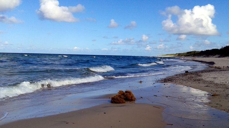 Beach in late September