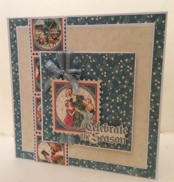 My Creative Spirit: Only 20 sleeps 'till Christmas - step by step instructions on this post