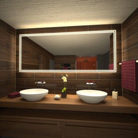 Ber ideen zu lichtspiegel auf pinterest - Badspiegel zierath ...