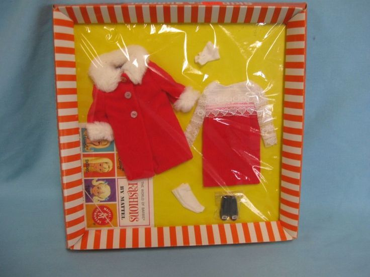 NRFB MOC JUNIOR FASHION FOR SKIPPER & SKOOTER VELVET 'N LACE #1948-300 #Mattel