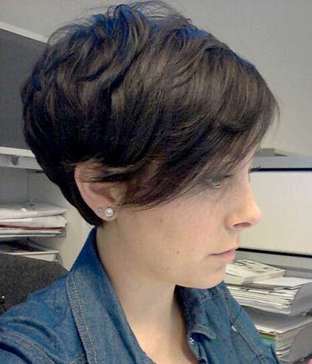 25 Best Ideas About Long Pixie Hairstyles On Pinterest