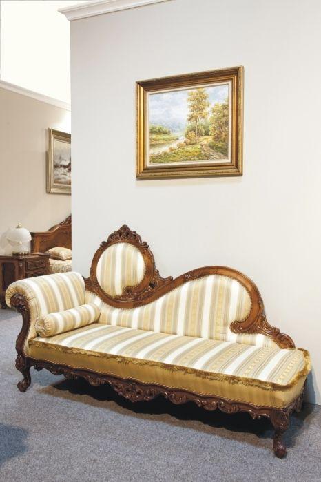 Sofa Hol Cleopatra: Sofa din lemn masiv pentru Hol