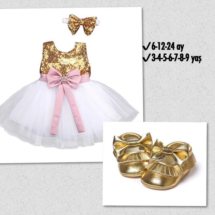 Prenses model arkası önü fiyonk altın rengi elbise+ saç bandana ve ayakkabı seti! ✔️6-9-12 ay hemen teslim! 2-3-4-5-6-7-8-9 yaş sipariş üzerine  25-35 günde teslim edilir!  Elbise;65tl.  Ayakkabı;35tl  #bebeğim#kidsfashion#butik#butikonline#canımkızım#hayat#kahvekeyfi#sunumönemlidir#saç#tasarım#moda#değer #değişim#antalya#izmir#huzur#bebegim#biryaş#disbugdayi#gununfotosu #günaydın http://turkrazzi.com/ipost/1520947493927368437/?code=BUbfa_5j7b1