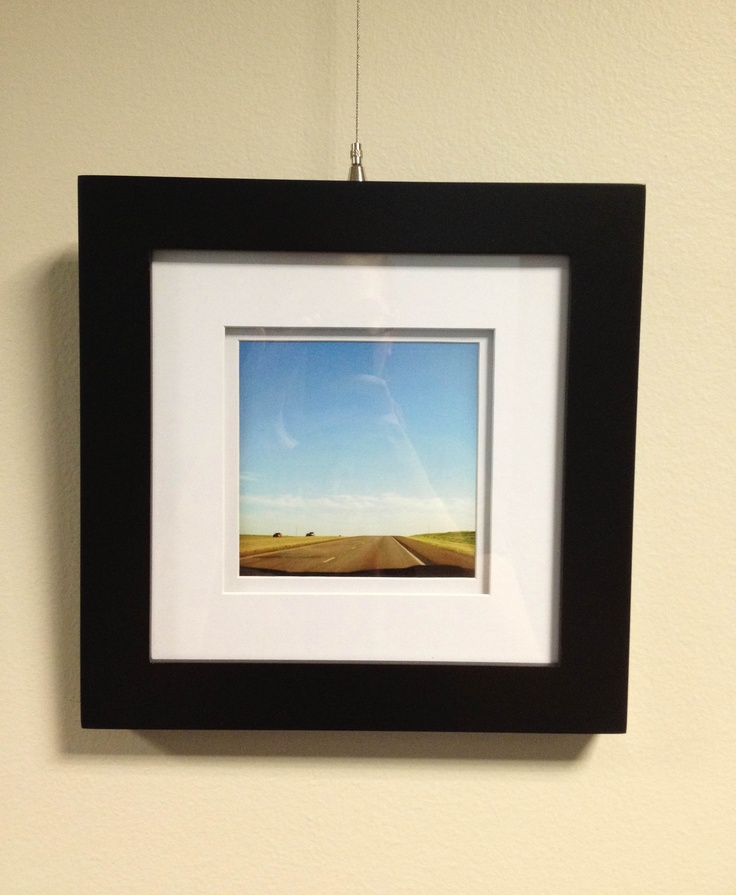 Michaels has frames for Instagram photos! They have 4x4 AND 5x5 sizes. I printed this photo using PostalPix at 5x5.