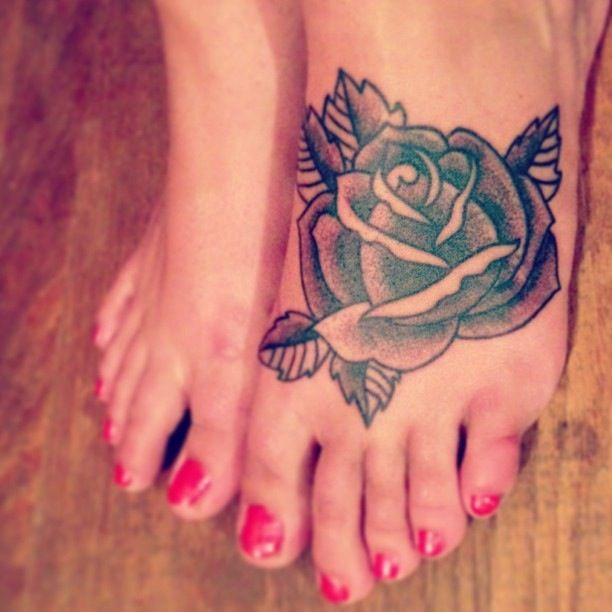 Every rose has its thorn rose tattoo young reckless for Rose with thorns tattoo