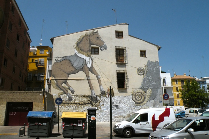 Valencia historisch centrum