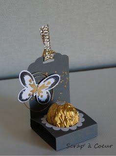 Scrap' à Coeur: De la poudre d'or pour des petites attentions...