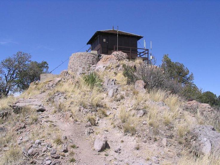 Atascosa Lookout House in Santa Cruz County, Arizona