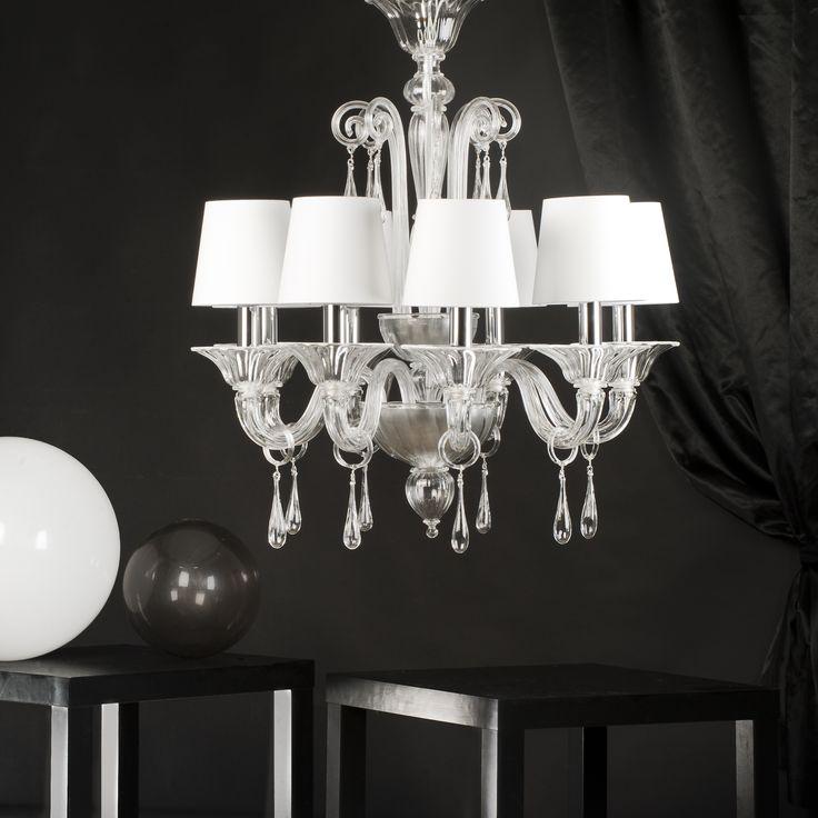 Ruzzini Silver #yourmurano #muranoglass #chandeliers