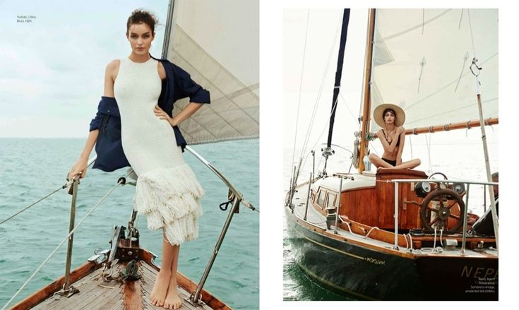 Nautical style for Harper's Bazaar Mexico