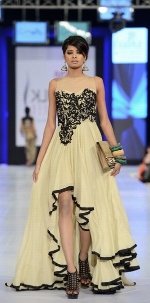 Pakistani couture dress by asifa and nabeel. bridal couture week 2014