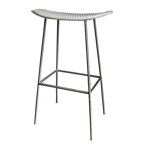 Unique Stainless Steel Outdoor Bar Stools