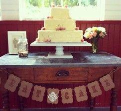 rustic wedding decor - resale