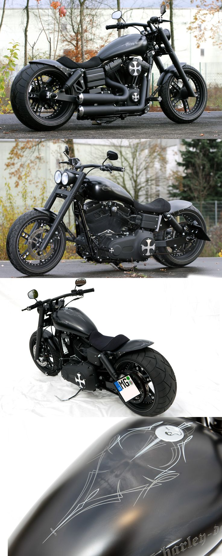 Thunderbike Dark Bob (customized Harley-Davidson Street Bob FXDB)