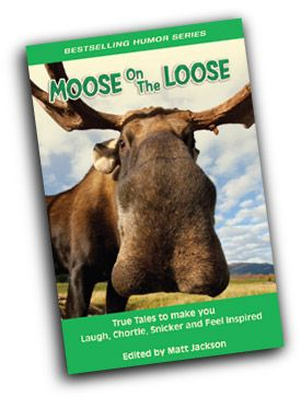 My short story, What's in a Name?, was published in Summit Studios, Moose on the Loose, anthology.