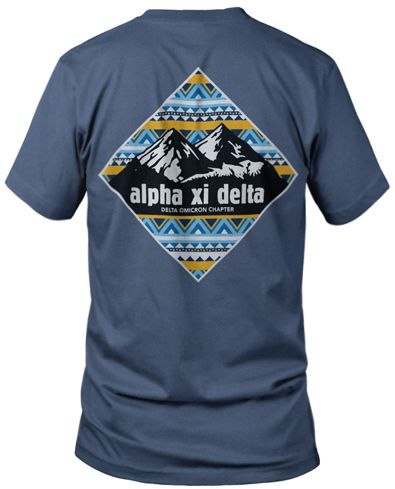 25 best mountain t shirts ideas on pinterest american for Sorority t shirts designs