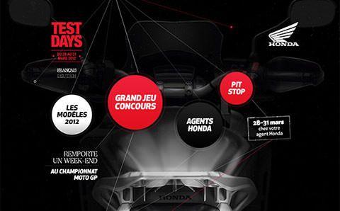Honda Test Days