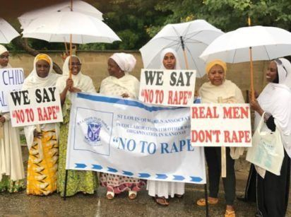 Women Professional Groups March Against Rape In Kano