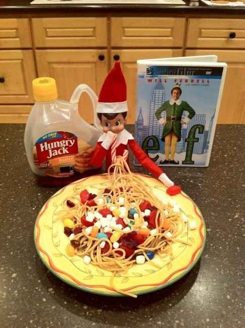 THIS one that is pictured is getting done this year for sure!   33 Genius Elf On The Shelf Ideas