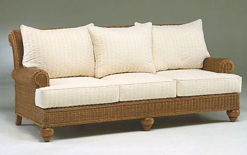 17 best images about white rattan and wicker indoor living for Rattan living room furniture